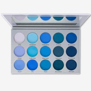 KARA BEAUTY ES22 SMOKY BLUE Eyeshadow Palette ES22 – Kara Beauty