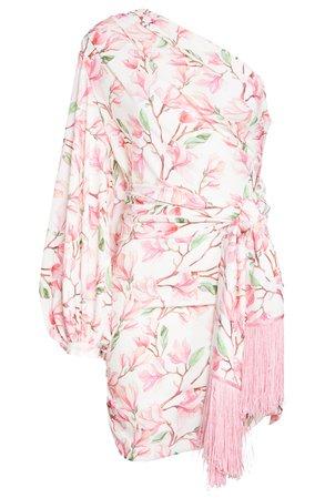 Bronx and Banco Layla One-Shoulder Long Sleeve Minidress | Nordstrom