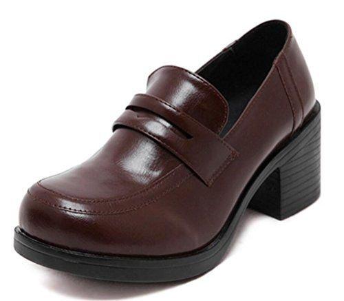 Brown School Uniform Shoes