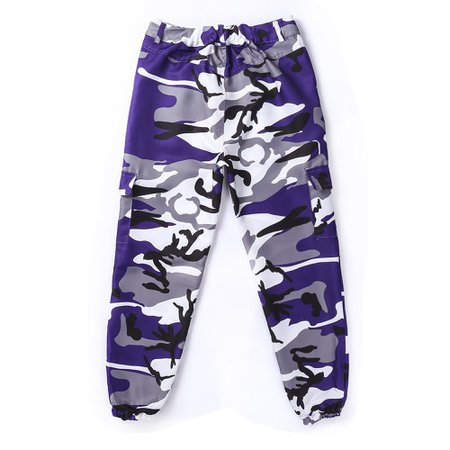 One opening - Womens Camo Cargo Trousers Pants Military Army Combat Camouflage Jeans - Walmart.com - Walmart.com