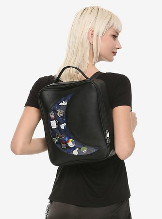 Moon Cutout Mini Backpack
