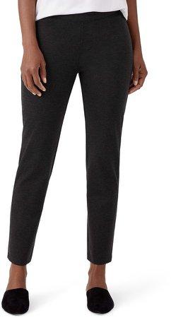 Slim Ankle Pull-On Pants