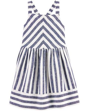 Striped Linen Dress | carters.com