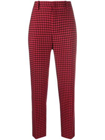 RedValentino check-pattern Cropped Trousers - Farfetch
