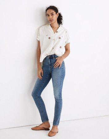 "10"" High-Rise Roadtripper Authentic Jeans in Vinton Wash"