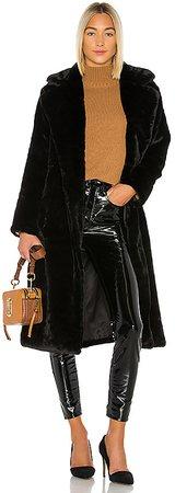 Mona Faux Fur Coat