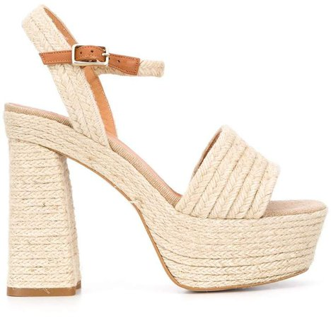 Platform Braided-Detail Sandals