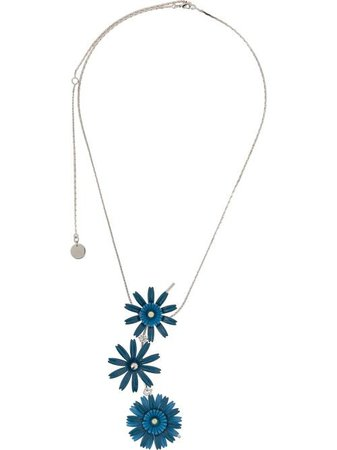 Marni Floral Charm Necklace - Farfetch