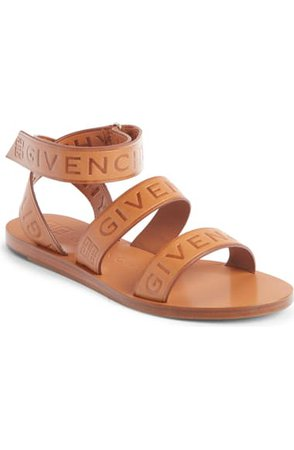 Givenchy Logo Ankle Strap Sandal (Women)   Nordstrom