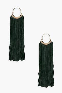 Felicia Statement Tassel Earrings