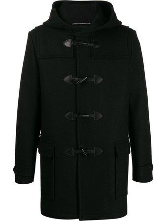 Saint Laurent Hooded Duffle Coat - Farfetch