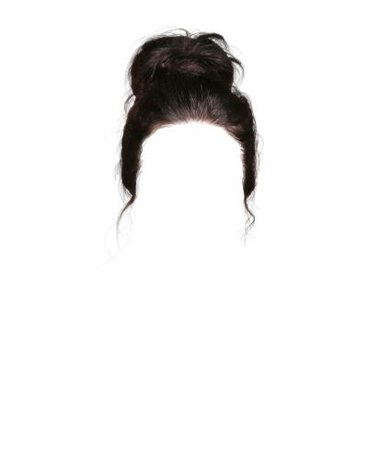 Dark Brown Bun