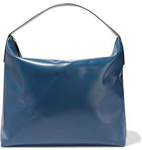 Glossed-leather Tote