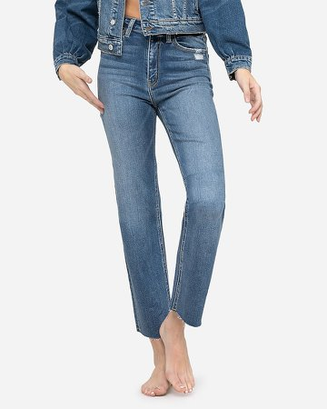 Flying Monkey Super High Waisted Straight Jeans