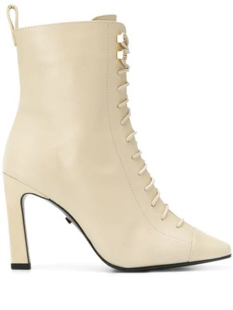 Grey Mer lace-up Ankle Boots - Farfetch