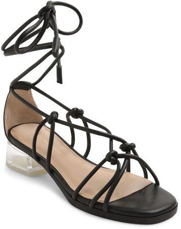 Gianni Ankle Wrap Sandal