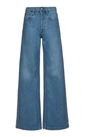 Rigid High-Rise Wide-Leg Jeans By Magda Butrym | Moda Operandi