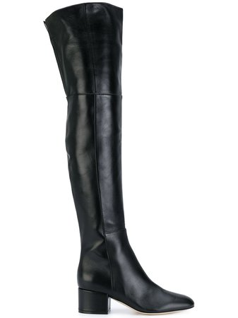 Sergio Rossi Knee Length Boots - Farfetch