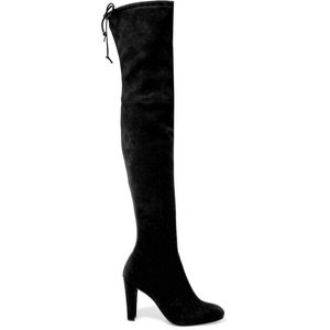 Stuart Weitzman | Highland stretch-suede over-the-knee boots