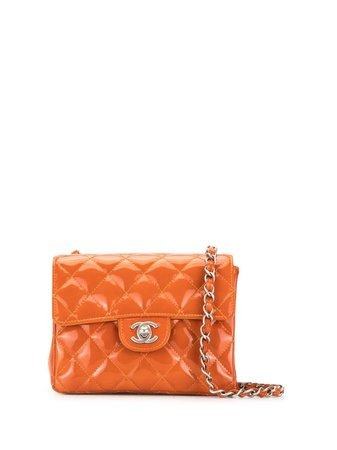 Chanel Pre-Owned Mini Square Classic Flap Shoulder Bag - Farfetch
