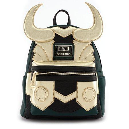 Loungefly x Marvel Loki Cosplay Mini Backpack