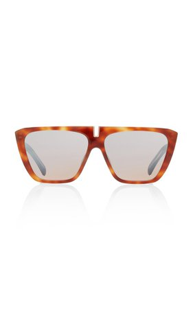 Oversized Acetate Square-Frame Sunglasses by Givenchy | Moda Operandi
