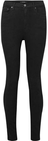 Kendall High-rise Skinny Jeans - Black