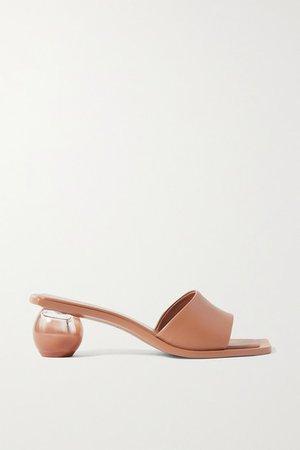 Tao Leather Sandals - Tan