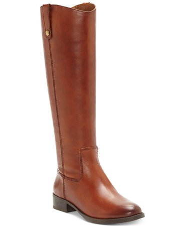 INC International Concepts INC Fawne Riding Leather Boots , Created for Macy's & Reviews - Boots - Shoes - Macy's