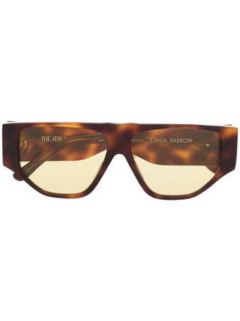Linda Farrow Oversized Sunglasses - Farfetch