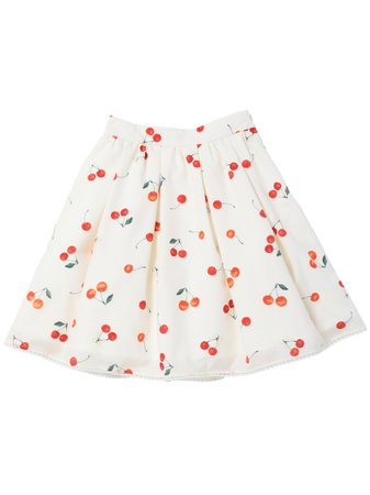 Sweet Cherry Skirt / mille fille closet (Skirt / Flare Skirt) | LODISPOTTO (Roddy Spot) mail order | Fashion Walker