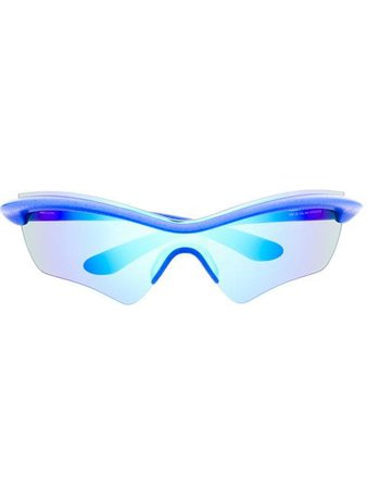 Mykita x Maison Margiela Iridescent Sunglasses - Farfetch