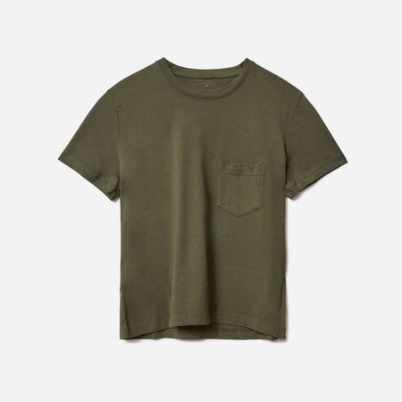 Women's Organic Cotton Box-Cut Pocket Tee | Everlane