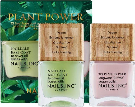 Plant Power Nail Polish Duo