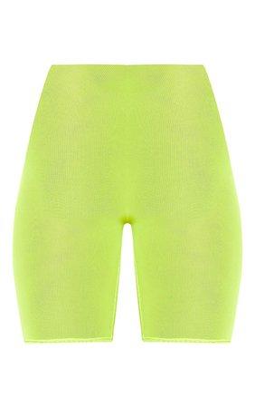 Black Mesh Cycling Short | Shorts | PrettyLittleThing