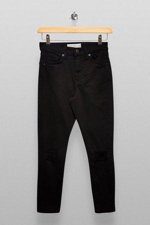 PETITE Black Jamie Skinny Jeans | Topshop