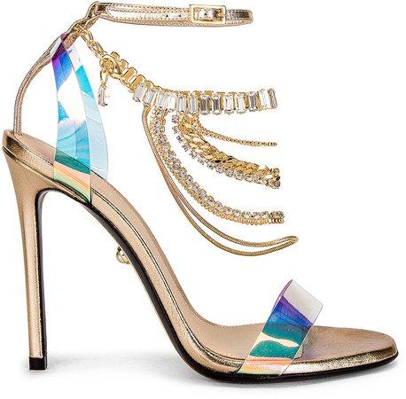 Petra 110 Sandal in Plexy Cosmo | FWRD