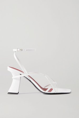 Kersti Leather Sandals - White