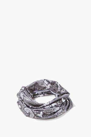 Snake Print Infinity Scarf | Forever 21