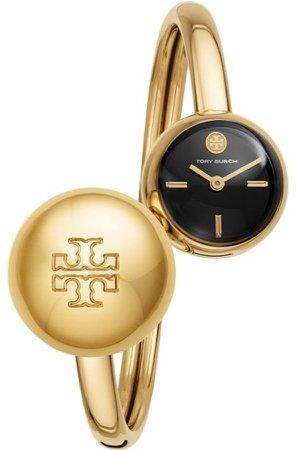 gold Tory Burch bracelet watch