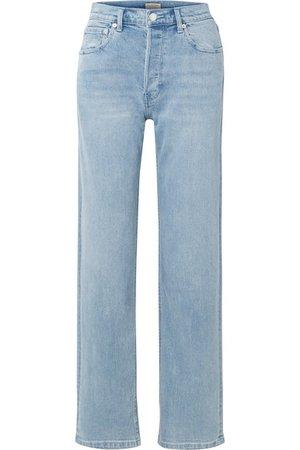 Burberry   High-rise straight-leg jeans   NET-A-PORTER.COM