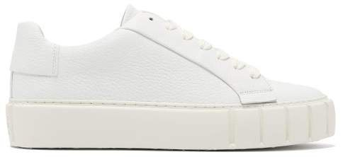 Primury - Dyo Leather Trainers - Womens - White