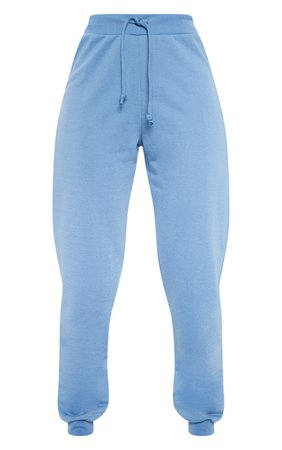 Dusky Blue Ultimate Sweat Jogger | Trousers | PrettyLittleThing