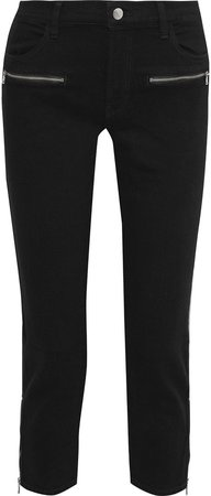 Ruby Cropped Mid-rise Slim-leg Jeans