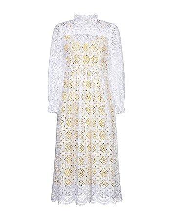 Diane Von Furstenberg Midi Dress - Women Diane Von Furstenberg Midi Dress online on YOOX United States - 15014587HV