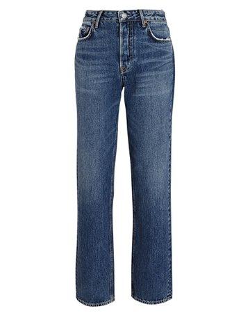 GRLFRND Helena High-Rise Straight-Leg Jeans | INTERMIX®