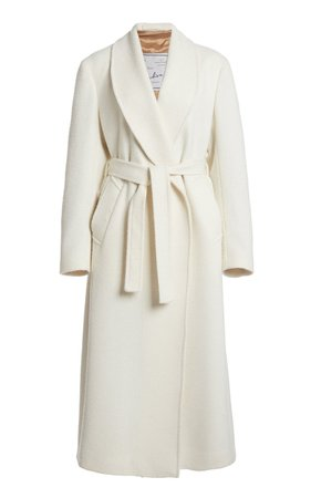The Linda Wool-Blend Belted Robe Coat by Giuliva Heritage | Moda Operandi