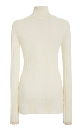 Embellished Silk-Blend Turtleneck by Proenza Schouler | Moda Operandi