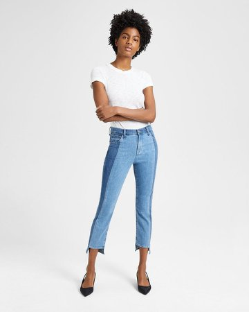 Ruby High Rise Crop Jean