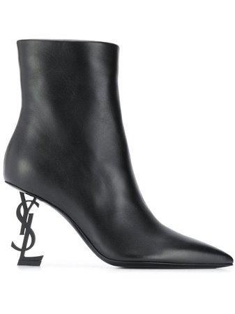 Saint Laurent Opyum 85 Ankle Boots - Farfetch
